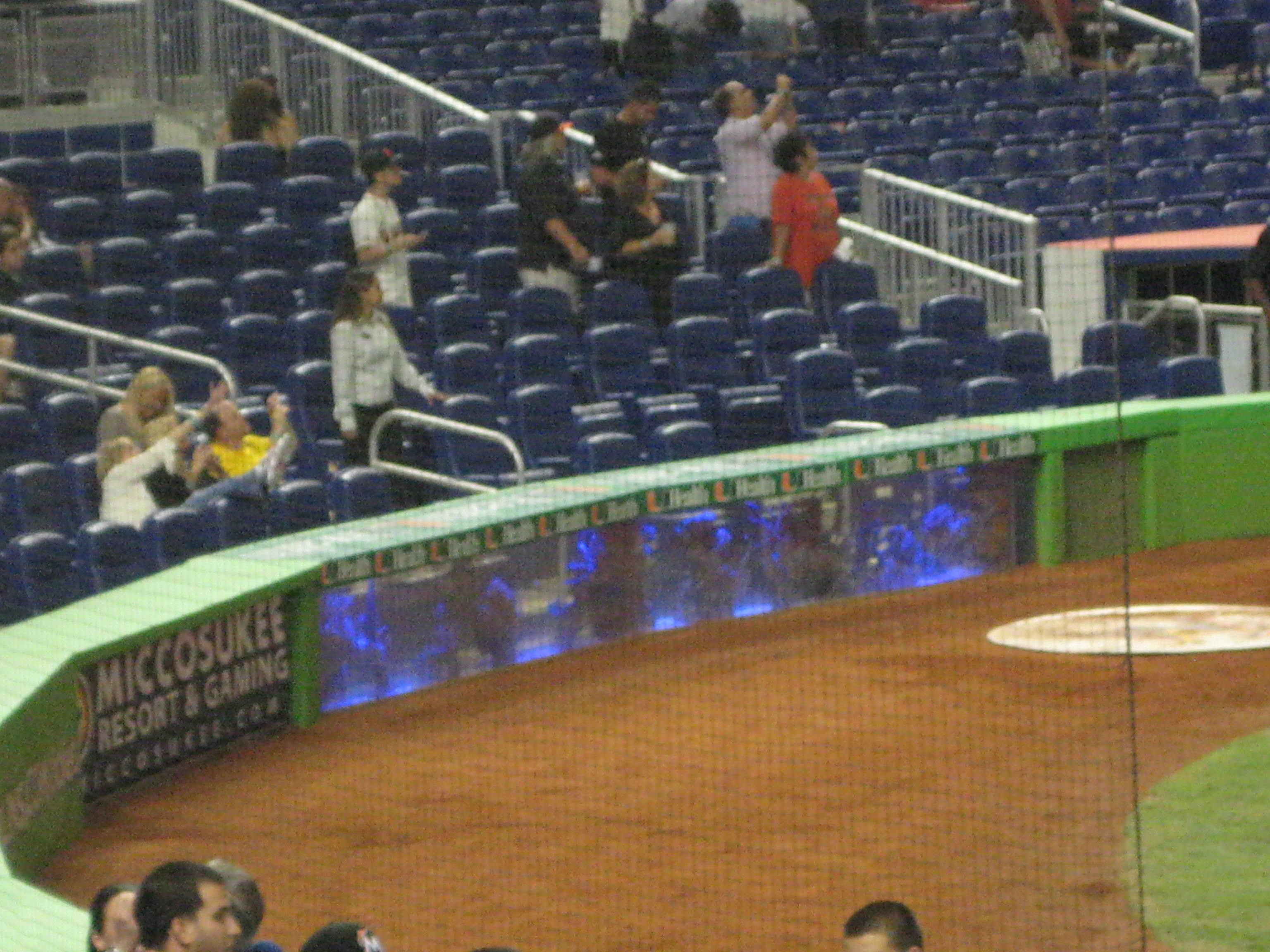 Marlins Park The Ballhawker