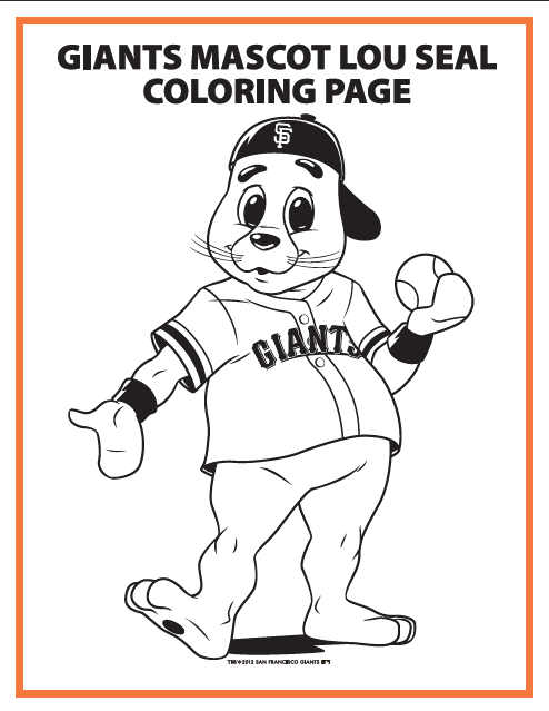 mascot and coloring pages - photo#37